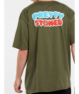 Volcom X Girl Skateboards Pretty Stoned Shirt