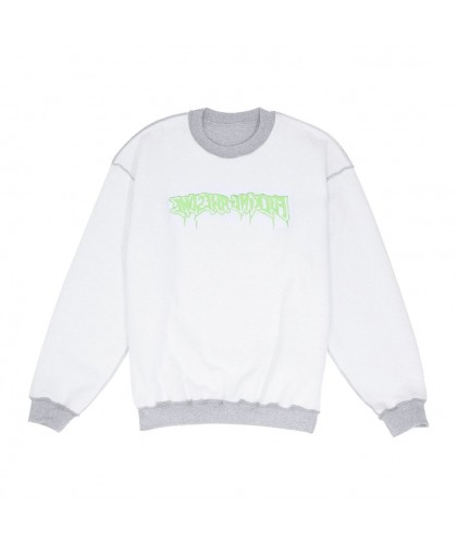 FUCKING AWESOME REVERSIBLE EMPTY DRIP CREWNECK