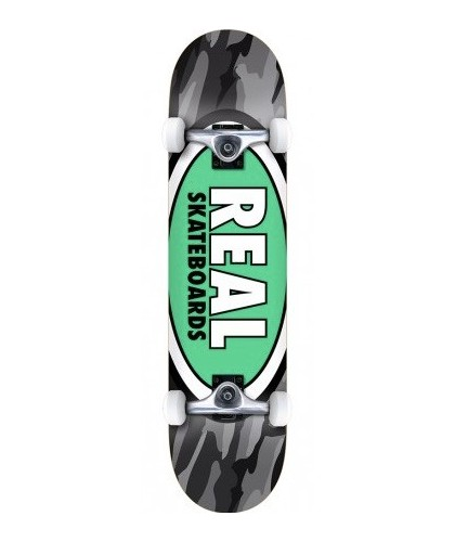 REAL COMPLETE TEAM OVAL CAMO XL 8.25""