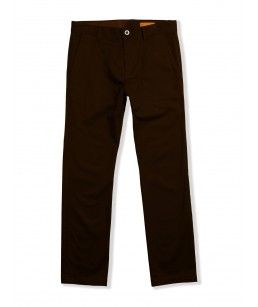 Volcom Frickin Modern Stretch Chino Pant Dark Brown