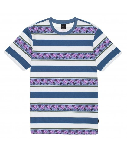 HUF MONARCH STRIPE SHORT SLEEVE KNIT TOP
