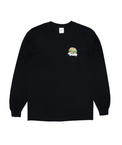 RIP N DIP FAT HUNGRY BABY LONG SLEEVE - BLACK