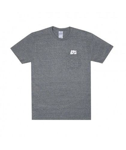 RIP N DIP LORD NERMAL POCKET TEE - GREY