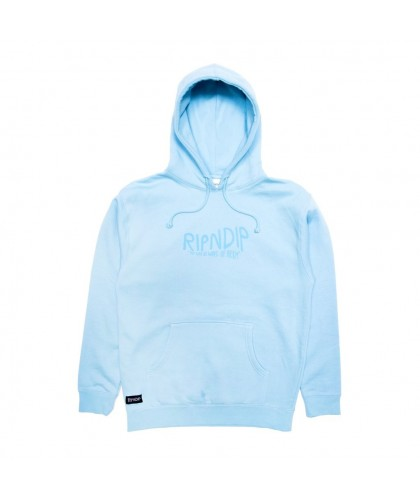 RIP N DIP THE GREAT WAVE OF NERM HOODIE - BLUE
