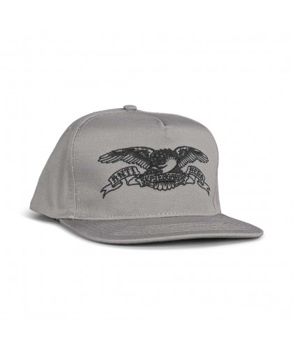 Anti Hero Basic Eagle Snapback Cap – Grey