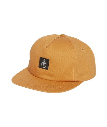 VOLCOM X GIRL SKATEBOARDS HAT - SAND BROWN