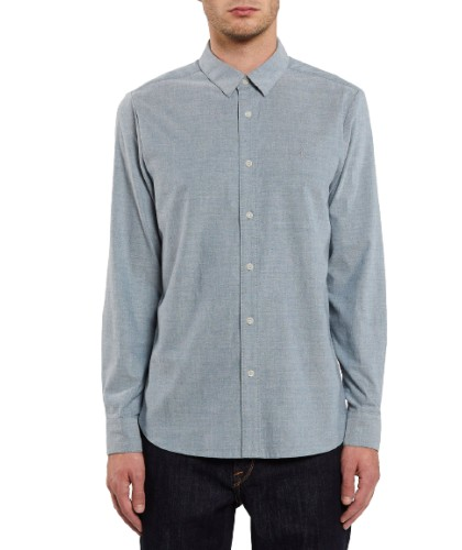VOLCOM 'OXFORD STRETCH' RINCON BLUE