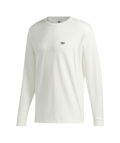 Adidas Shmoo Longsleeve Tee Off White / Mineral Red